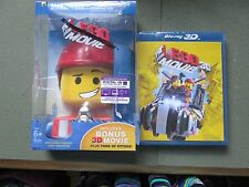Lego Movie 3D Blu-ray + Blu-ray + DVD +UltraViolet Combo Pack) NEW OPEN BOXED