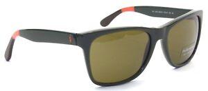 Polo Ralph Lauren Sonnenbrille PH4106 5570/73 57mm dunkelgrün 124 T11