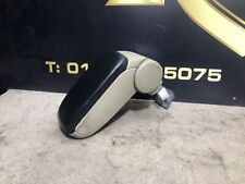 Audi A3 8P Black Leather Arm Rest in Beige AB2 Torrone 8P0864207B