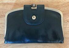 Nwt Women's Hobo International Leather Wallet, Halo, Evergreen, MSRP $108.00