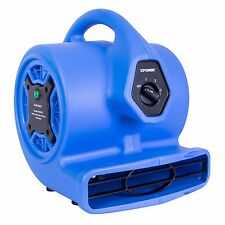 XPOWER P-150N Freshen Aire Scent Mini Air Mover Dryer Fan w/ Ionizer & Freshener