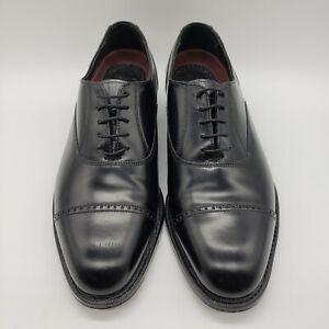 Florsheim Men's Size 9.5 D Lexington Cap Toe Oxford Shoes Leather Lace-up VGUC