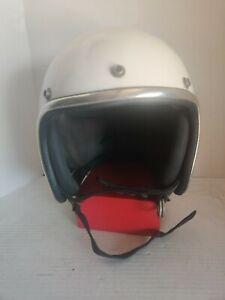 Vintage Arthur Fulmer AF-40 Car Racing Motorcycle Bobber Harley Helmet L
