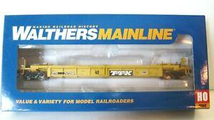 Walthers Ho Mainline Ltd Edition 60' Thrall Well Car#910-5645 New TTX Logo NIB