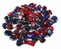 Ruby & Sapphire Loose Gemstone  1001 Ct. Natural Mix Shape Wholesale Lot