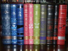 10 Volume Soft Leather Bound With Ribbon Marker Collectible Classics Gift Set