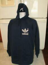 adidas hoodie sweatshirt  Made in USA old school vintage 1970's Men's Large