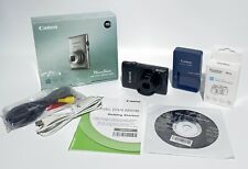Canon PowerShot ELPH 300 HS 12.1 MP Digital Camera Black Works Great
