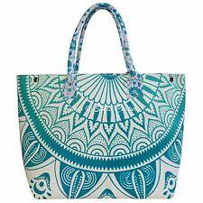 Indian Bohemian Mandala Tote Bag Womens Cotton Shoppers Shoulder Bag Handbags