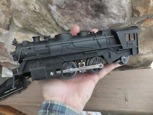 Vintage Metal Marx No. 666 Engine Locomotive w/ Union Pacific Tender Coal Car