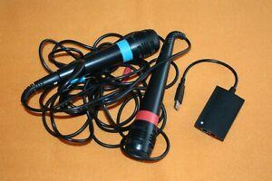 Singstar Mikrofone Mikrophon Mikro für Sony Playstation 2 + 3