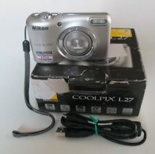 Nikon COOLPIX L27 16.1MP Digital Camera - Silver