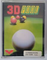 3D POOL - FIREBIRD - Commodore 64 (C64, C128) - TESTED - See photos