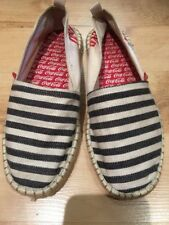 Women's Coca-Cola plage chaussures jute Classic Espadrilles Cream Red Navy 4 (37)