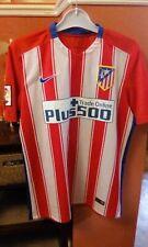 Nike Atletico Madrid #9 Torres Short Sleeve Football Shirt Size Medium