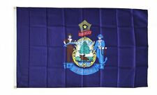 Maine State Flag 3 x 5 Foot Flag - New 3x5 Indoor Or Outdoor = lower price