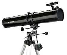 "Celestron 4.5"" Reflector Telescope - Complete Package With Extra Free Stuff ! !"