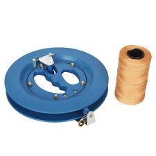 Grip Wheel Kite Reel 500M String Line 8Inch/Winder/Ballbearing/Handle Lockable