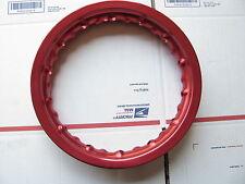 Dirt Pit Bike rim 16X10  28 spoke holes XR50 / CRF50 CRF TTR WR YZ YZF red