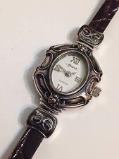 Spirit Ladies Designer Silver Tone Excellent Condition Working Quartz Watch