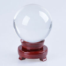 120mm Quartz Crystal Ball Sphere Scrying Ball Photo Props Ship From USA GiftWrap