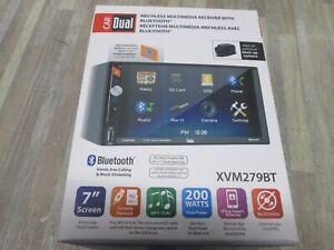Dual XVM279BT Double Din Digital Media Receiver Car Stereo Radio with USB SD MP3