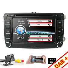 "7"" Car Stereo GPS DVD Player Radio Head Unit for VW Jetta Passat Polo Caddy EOS"