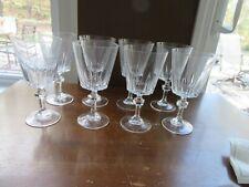 8 - Vintage Princess House ESPRIT Wine Water Glasses Goblets