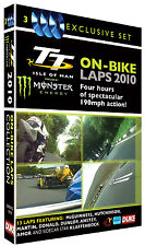 On Bike Laps TT 2010 3 Disc DVD - Volume 1, 2 & 3