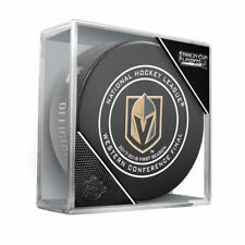 LAS VEGAS GOLDEN KNIGHTS 2018 Western Conference Finals NHL OFFICIAL GAME PUCK
