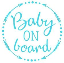 Baby On board Car Truck Suv vinyl sticker decal