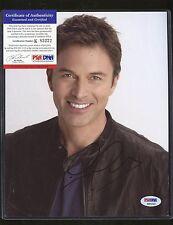 Tim Daly Signed 8x10 Photo PSA/DNA COA Autograph AUTO