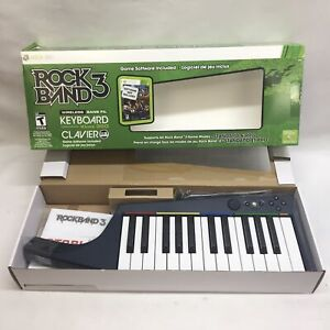 Rock Band 3 XBOX 360 Wireless Keyboard Keytar (NO GAME SOFTWARE DISC)
