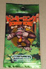 Japanese RARE 1999 Nintendo Donkey Kong Country CGI Trading Card Booster Pack