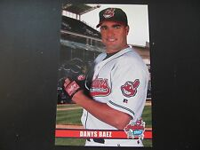 2003 Danys Baez Cleveland Indians Post Cards / Postcards