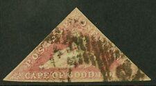 Cape of Good Hope 1855-58   Scott #5a  USED