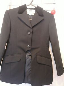 """28"""" CHILD HARRY HALL SHOW HUNTING RIDING SHOW EVENT CUT AWAY JACKET"""