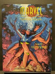 MARVEL SWIMSUIT SPECIAL #4 ~ VF/NM 9.0 1995 MAGAZINE COMIC ~ GAMBIT & ROGUE