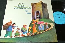 PETER HACKS Das Turmverlies / DDR LP 1982 LITERA 865329