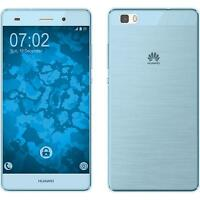 Funda de silicona Huawei P8 Lite 2015 (1.Gen.) 360° Fullbody - azul claro Case