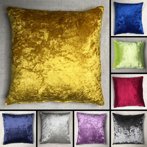 Crushed Velvet Cushion Cover Handmade Pillow Case Sofa Bed Home Decor