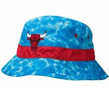 "Chicago Bulls Mitchell & Ness NBA ""Surf Camo"" Bucket Hat, S-M"