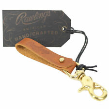 Rawlings American Handcrafted Key Chain/Ring - Tan - Free Shipping