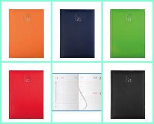 AGENDA GIORNALIERA 2021,12X17,borsa,ufficiocasa,regalo,5 colori disponibili