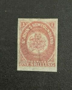 Newfoundland Stamp #23i Watermarked Mint Hinged