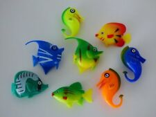 Wassersäulenzubehör 8er Set Fische bunt B1051