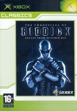 THE CHRONICLES OF RIDDICK             -----   pour X-BOX  // EC