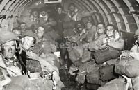WW2 Photo Picture D Day Paratroopers Jumping D day 228