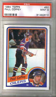 (1.CARD) PAUL COFFEY 1984-85 TOPPS #50 PSA 9