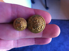 Italian Italiano Lloyd shipping merchant uniform button buttons. Italy